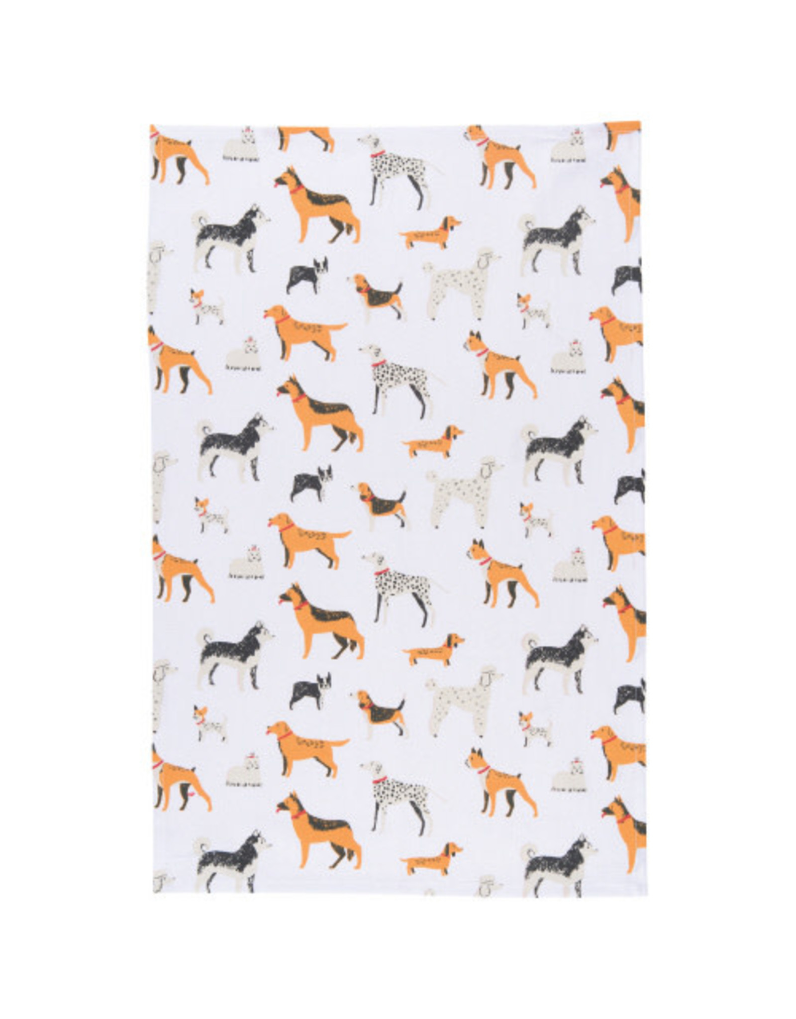 Dog Days  Tea Towel