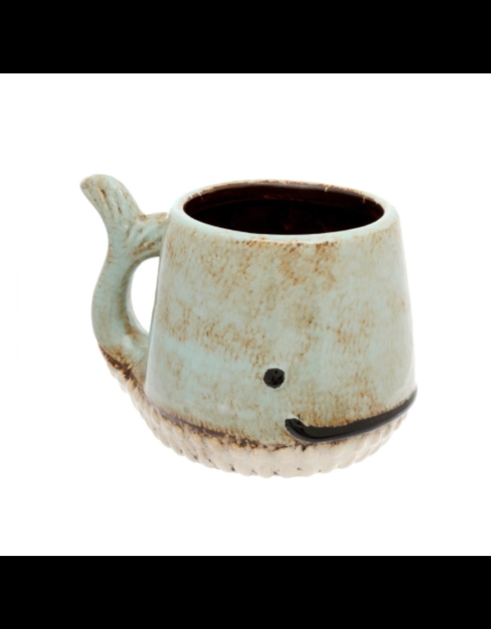 Whale Mug - Aqua
