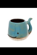 Whale Mug - Blue