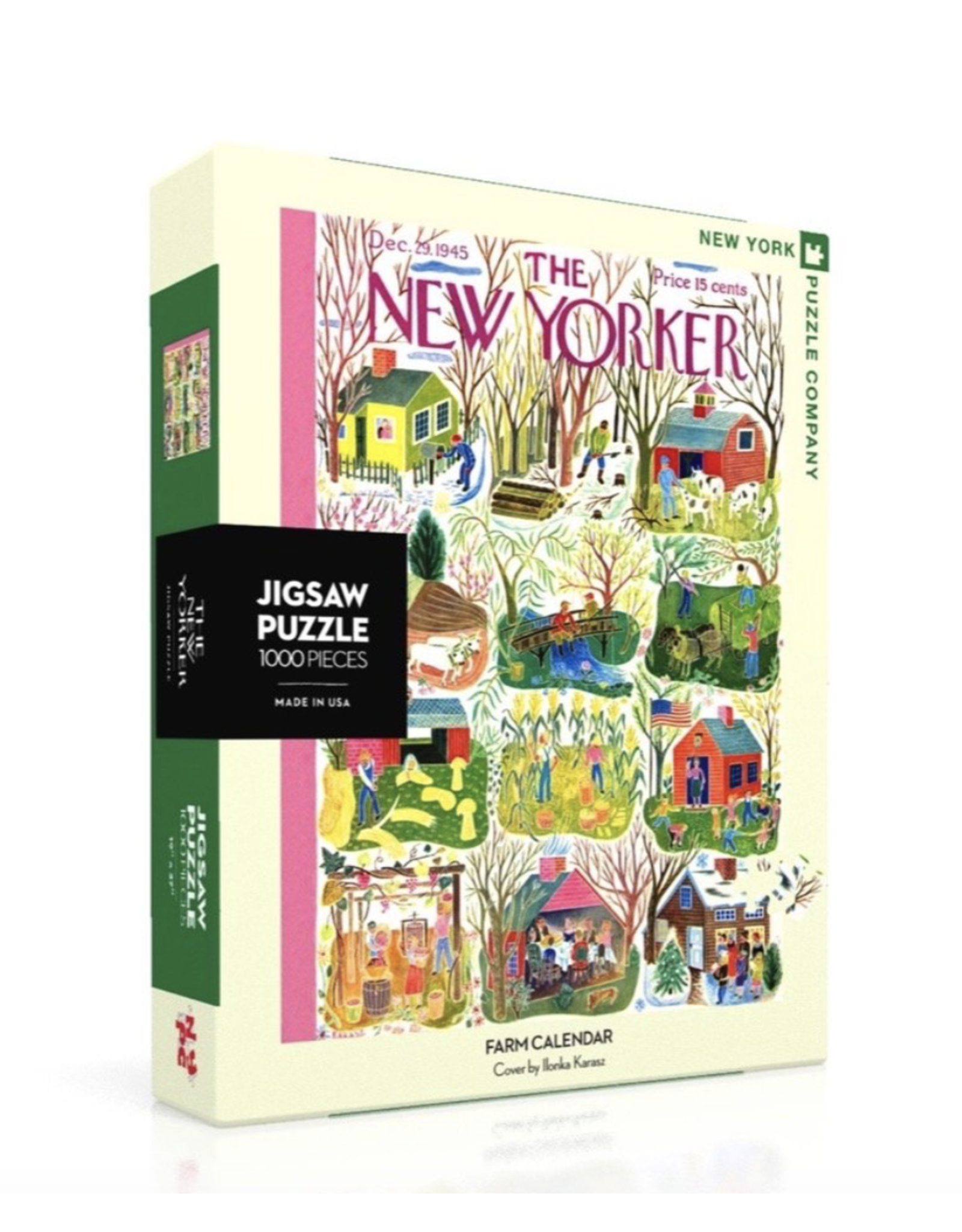 New Yorker Puzzle -  Farm Calendar