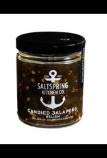 Salt Spring Kitchen Candied Jalapeno Relish 270ml