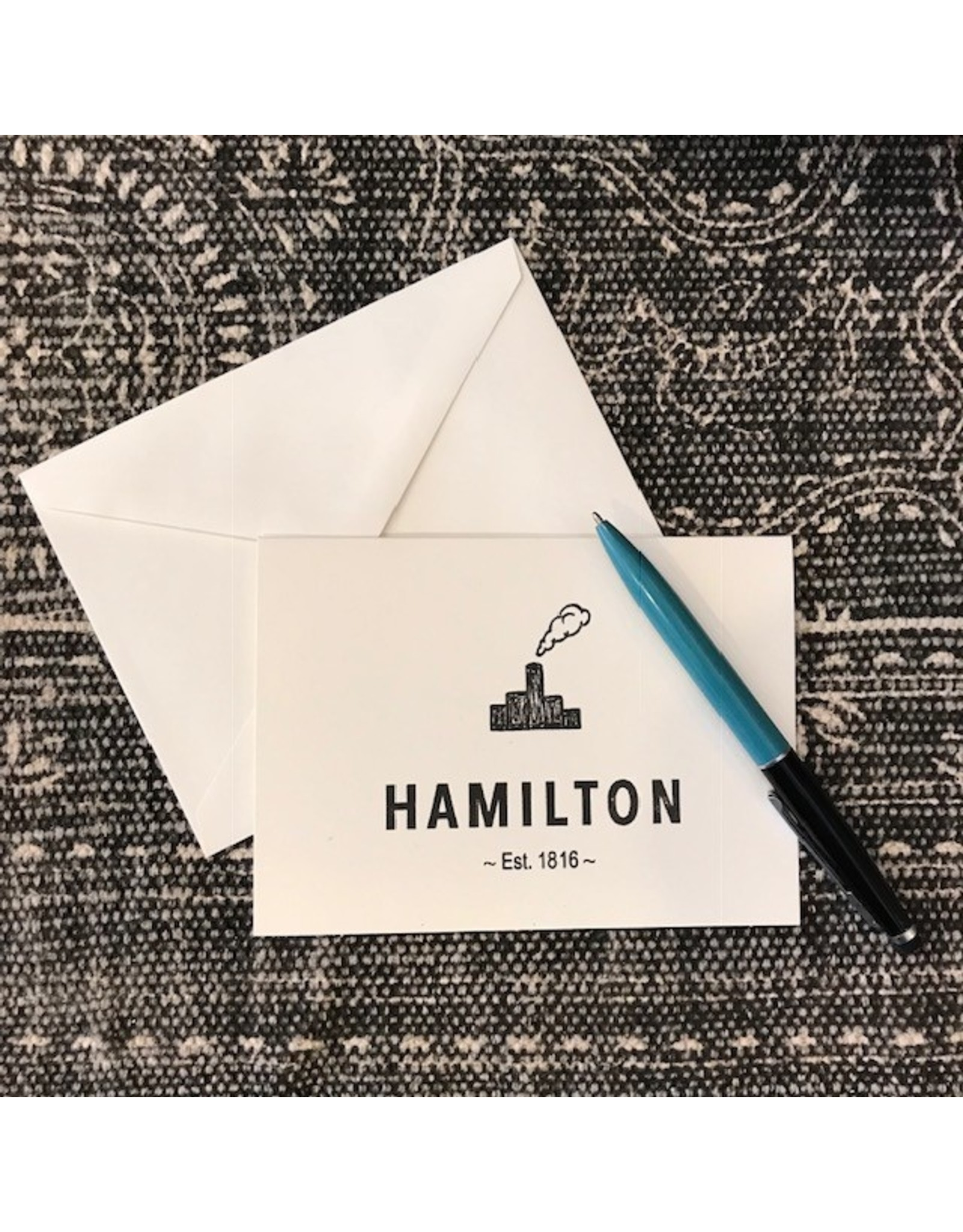 Hamilton Note Card