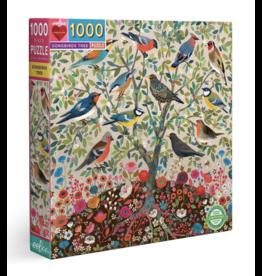 eeBoo Songbirds Tree 1000 piece puzzle