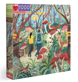 eeBoo Hike in the Woods 1000 piece puzzle