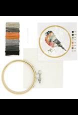 Mini Cross-Stitch Embroidery Kit- Bird