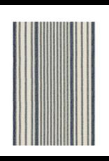 Dash & Albert Mattress Ticking Rug 2.5x8
