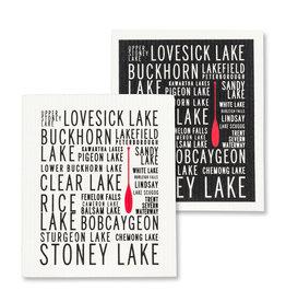 Kawartha Lakes Swedish Dishcloths S/2