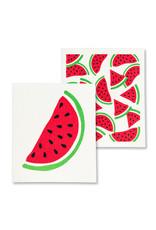 Watermelon Swedish Dishcloths S/2