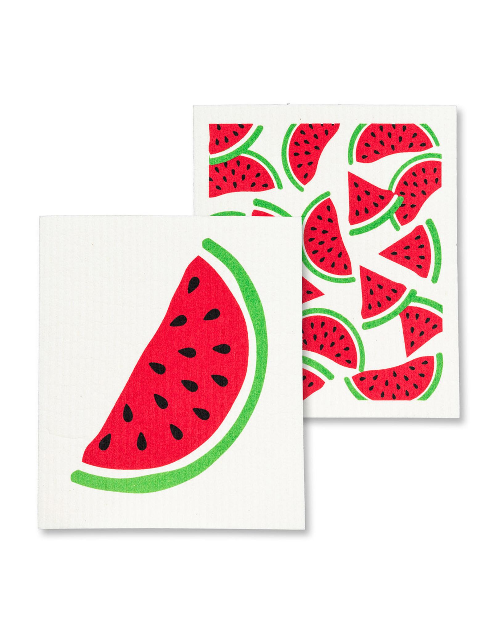 Watermelon Dishcloths S/2