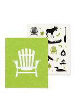 Muskoka Chair & Icons Dishcloth Set of 2