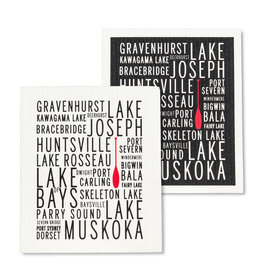 Muskoka Lakes Dishcloth Set of 2