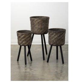 Sullivan's Planter Basket on Legs- Medium
