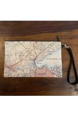 Local Map Zipper Pouch- Hamilton
