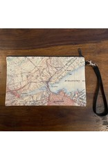 Local Map Zipper Pouch - Hometown