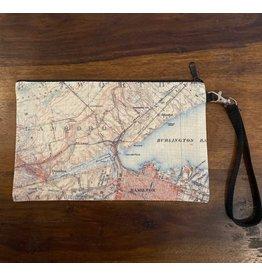 Local Map Zipper Pouch - Hometown