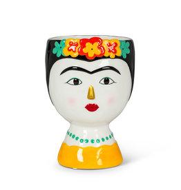 """Frida with Flowers Vase - Med 8"""""""