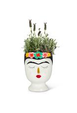 """Frida with Flowers Vase - Lrg 8.5"""""""