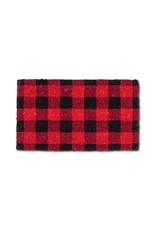 Buffalo Check Coir Doormat