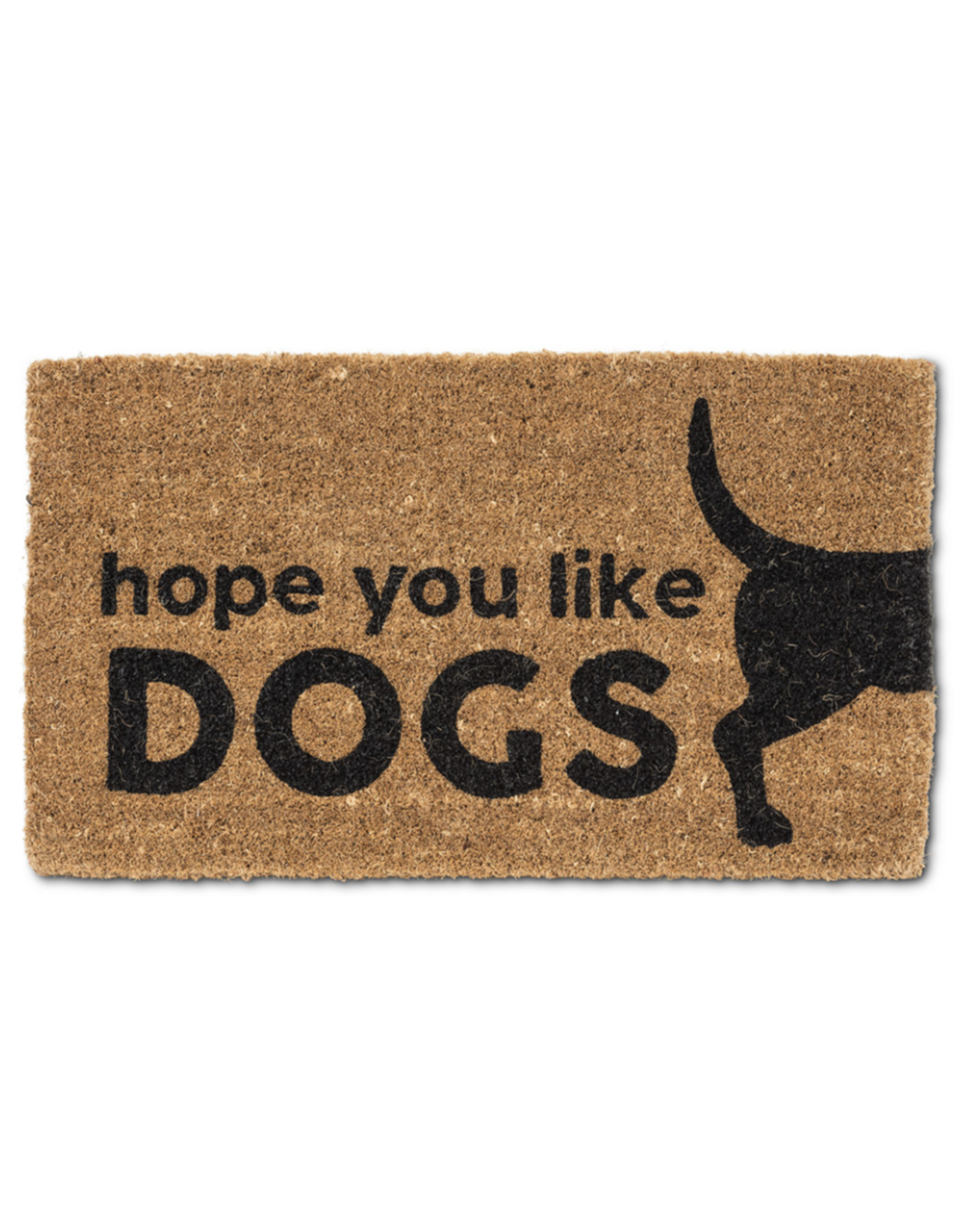 Hope You Like Dogs Graphic Doormat