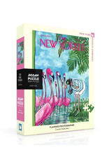 New York Puzzle Co New Yorker Puzzle - Flamingo Photographer