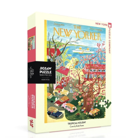 New York Puzzle Co New Yorker Puzzler - Tropical Holiday