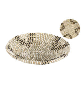 Seagrass Bowl Natural and Black