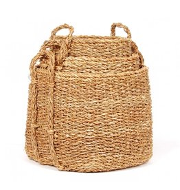 Square Seagrass Storage Basket