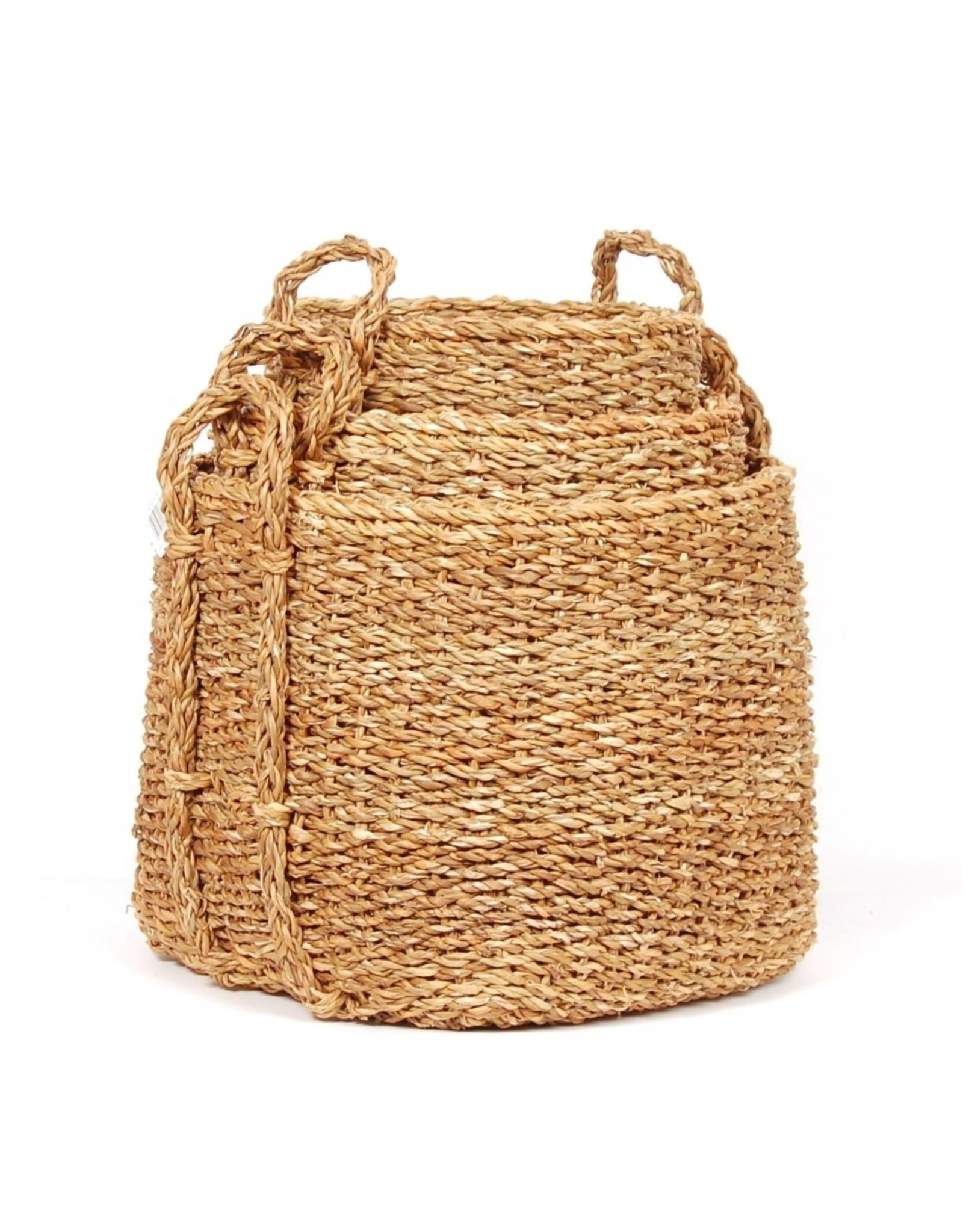 Square Seagrass Storage Basket