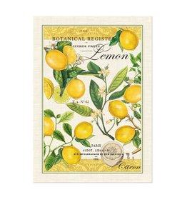 Michel Lemon Basil Kitchen Towel