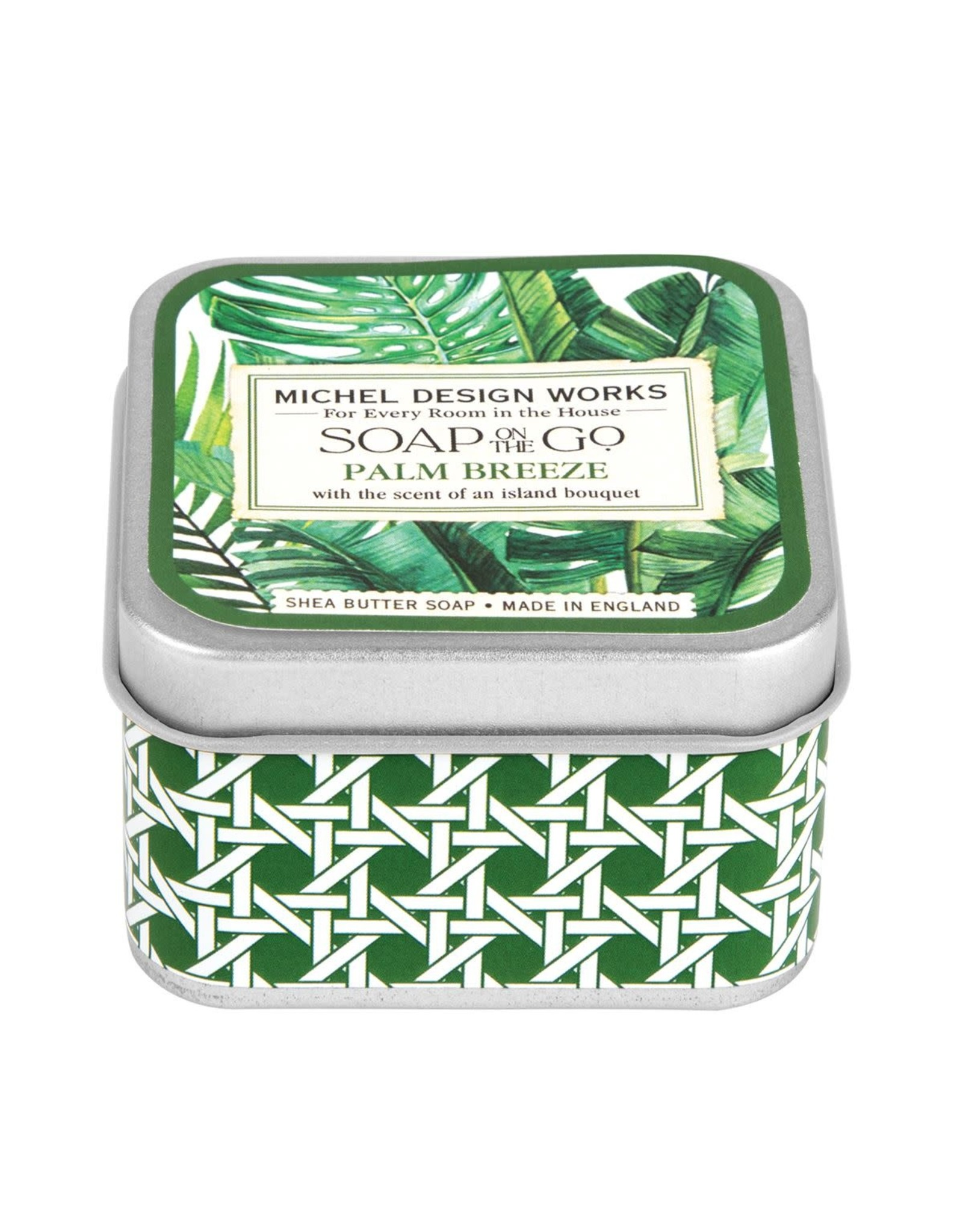 Michel Palm Breeze Soap on the Go