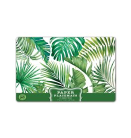 Michel Palm Breeze Paper Placemats
