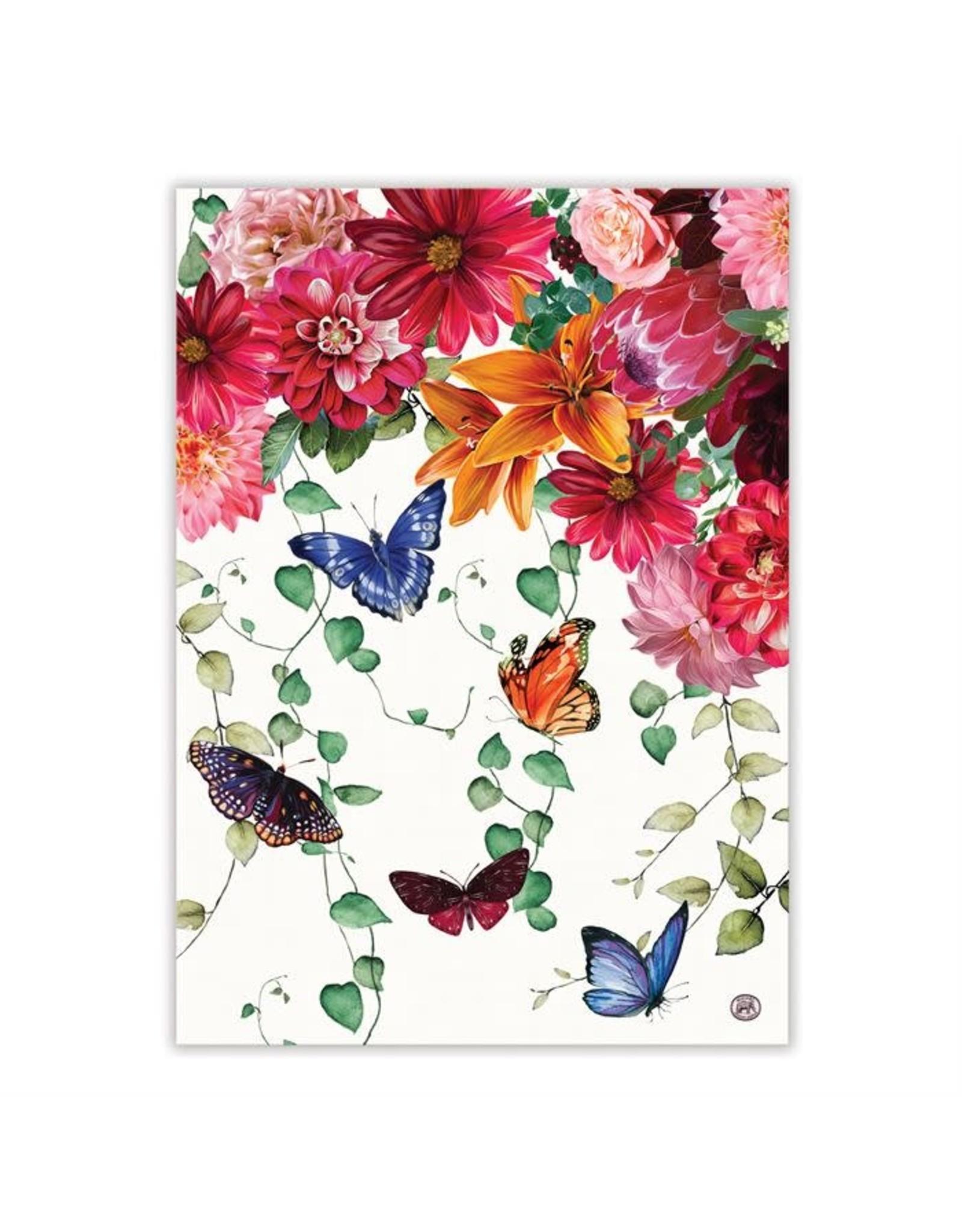 Michel Design Michel Sweet Floral Melody Kitchen Towel