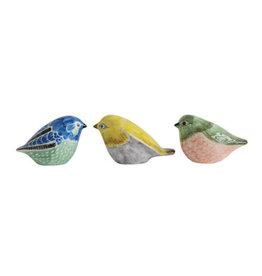 Hand Painted Stoneware  Bird