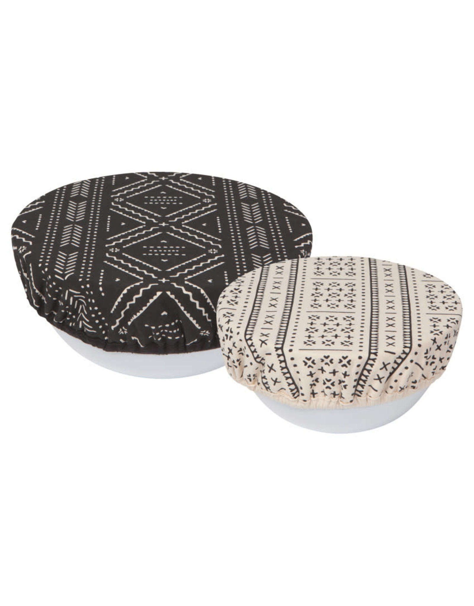 Bowl Cover Set of 2 Onyx