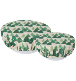 Bowl Cover Set of 2 Woods