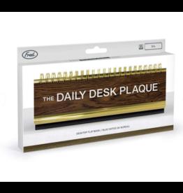 Daily Desk Plaque