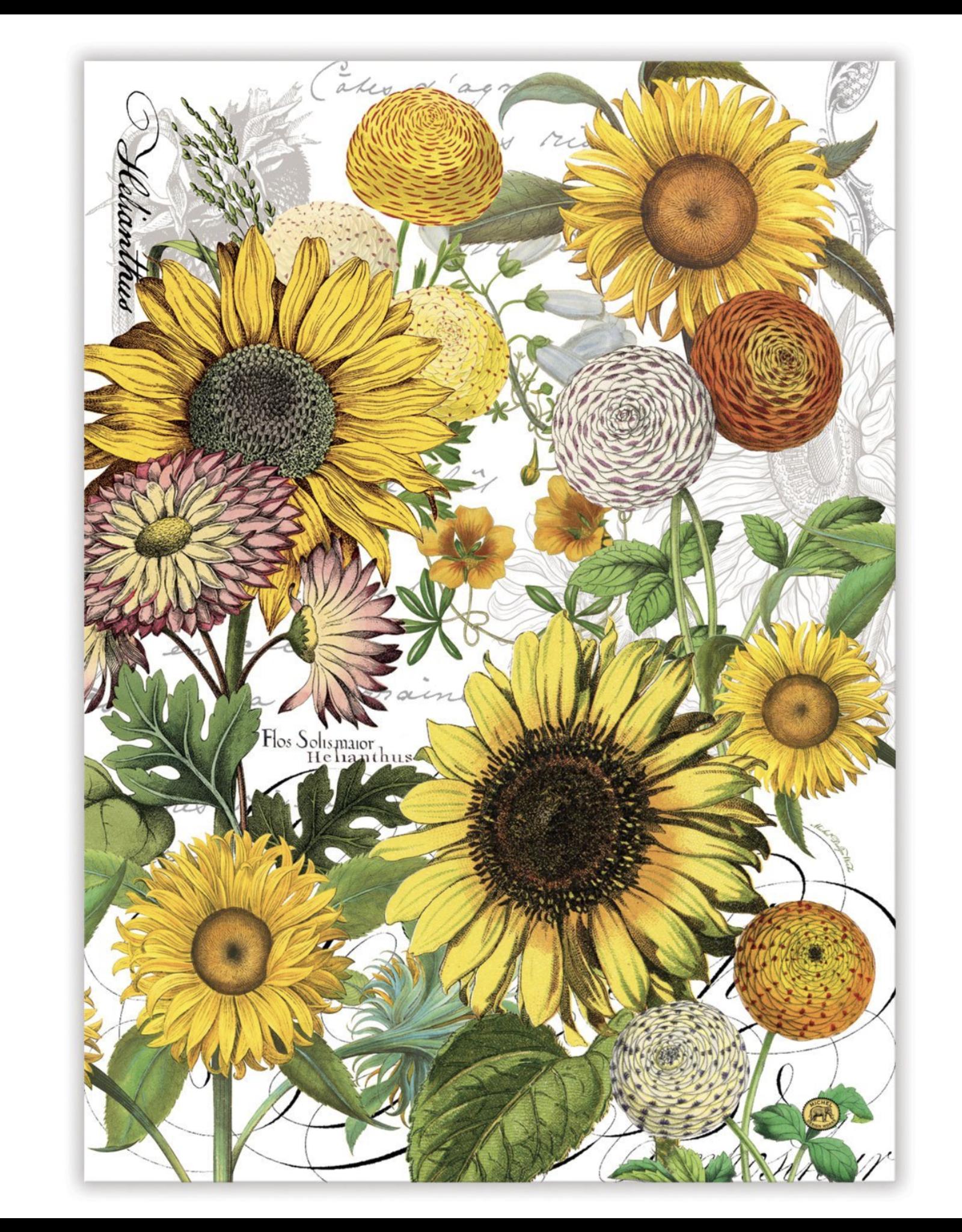 Michel Sunflower Kitchen Towel