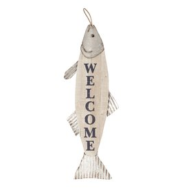 Wall Art - Welcome Fish