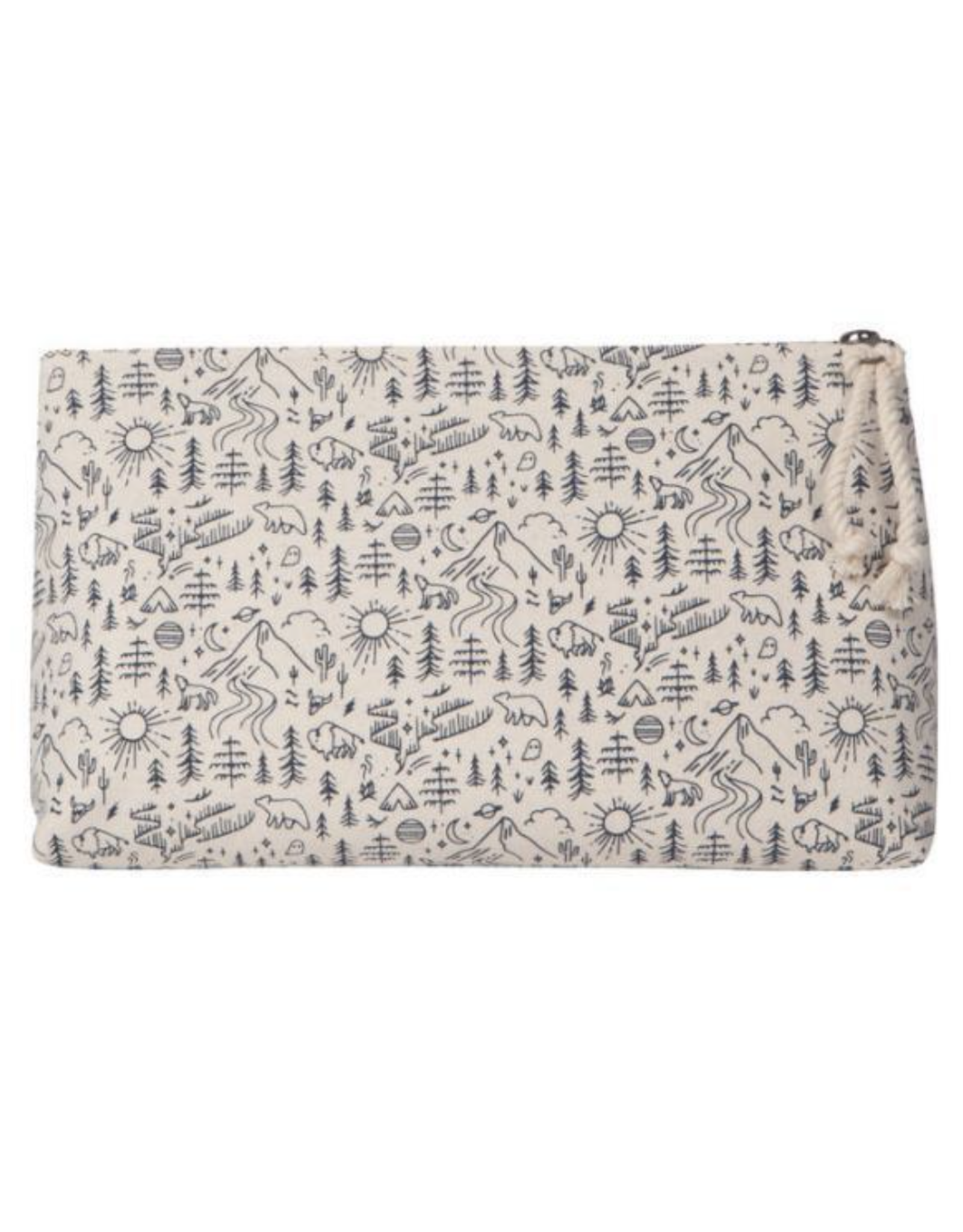 Stay Wild Cosmetic Bag Lg