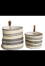 Jute Basket with Hanging Loop -LG