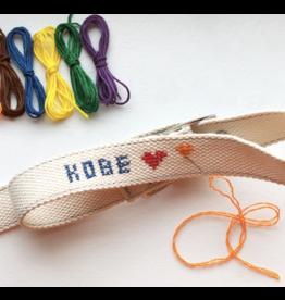 DIY Cross Stitch Dog Collar - Large