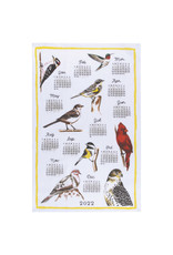 2022 Bird Calendar Tea Towel