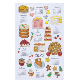 Sweeter Times Calendar Tea Towel