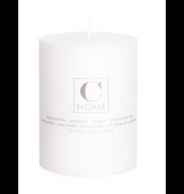 3x4 White Pillar Candle