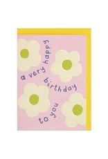 Birthday - A Very Happy Birthday - Flowers