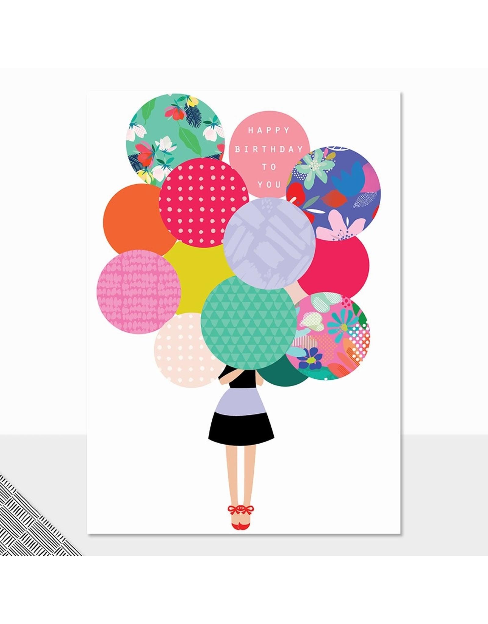Birthday - Happy Birthday to You - Balloons
