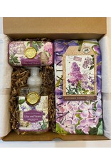 Michel Designs Gift Box - Lilac and Violets