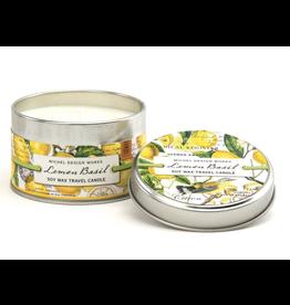 Michel Lemon Basil Travel Candle