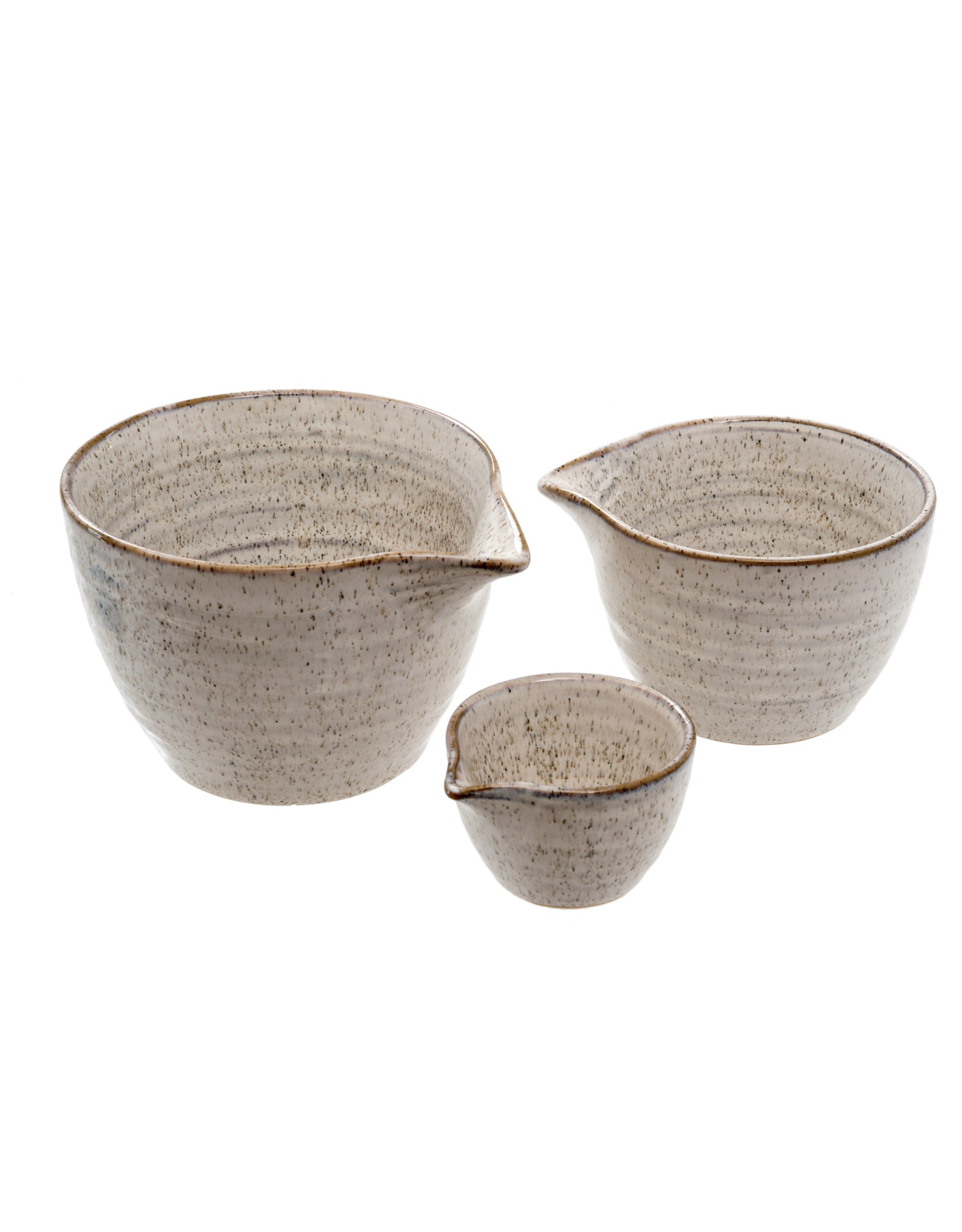 Galiano Spouted Bowls - S/3