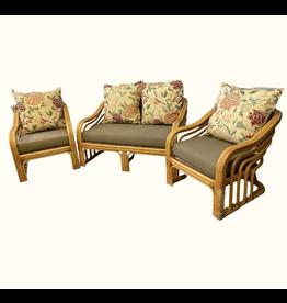 Vintage Bamboo Furniture Set